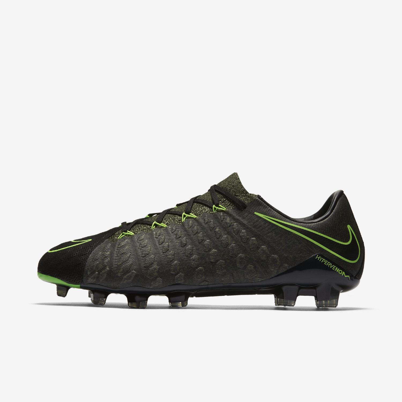 ... ic football shoes peach grey black; nike hypervenom phantom iii tech  craft fg black ...