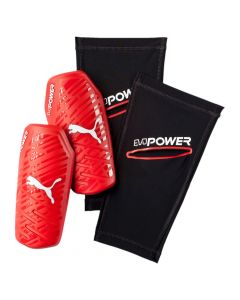 Puma evoPower 1.3 Slip Shinguard - Red/White