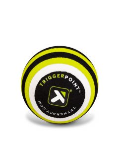 "MB1 2.5"" Triggerpoint Massage Ball - Black/Green"