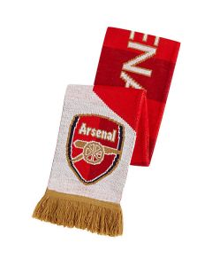 Puma Arsenal Fan Scarf - High Risk Red/White