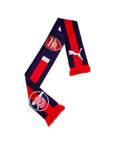 Puma Arsenal Fan Scarf - Red/Navy