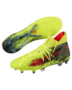 Puma Future 18.1 NETFIT FG/AG - Yellow