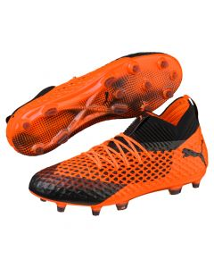 Puma FUTURE 2.1 NETFIT FG/AG - Orange/Black