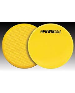 Kwikgoal Flat Round Marker Yellow