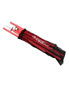 Kwikgoal Coaching Sticks 2 Go - High Vis Orange