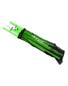 Kwikgoal Coaching Sticks 2 Go - High Vis Green