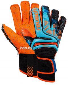 reusch Prisma Pro G3 Fusion Evolution Ortho-Tec LTD Goalkeeper Gloves - Blue/Orange