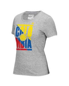 adidas Colombia Women's Copa Tee - Grey