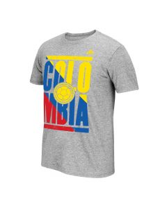 adidas Colombia Men's Copa Tee - Grey