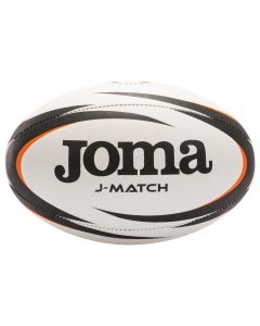 Joma J-Match Rugby Ball - White
