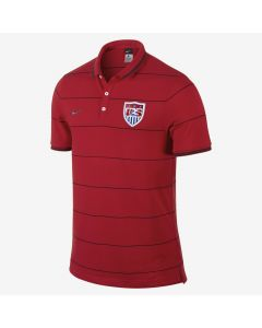 Nike League USA Auth Polo - University Red