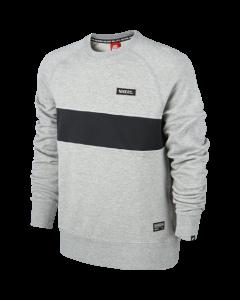 Nike AW77 GF LS Crew - Dark Grey Heather