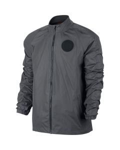 Nike F.C. N98 Windbreaker Jacket - Dark Grey/Black