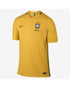 Nike Brazil Authentic Home Jersey 2016/17 - Yellow