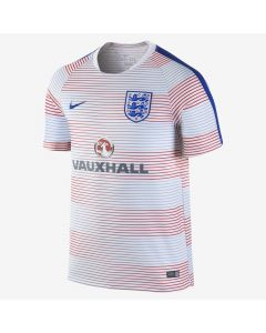 Nike England Flash Pre-Match 2 Jersey 2016/17- Wht