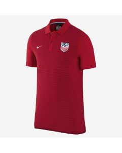 Nike USA Authentic GS Polo - Red