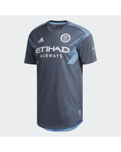 adidas NYCFC Authentic Away Jersey 2018 - Grey