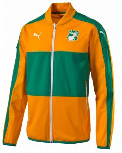 Puma Ivory Coast Stadium Jacket - Orange