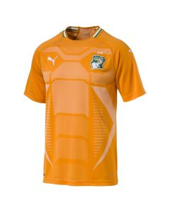 Puma Ivory Coast Mens Home Jersey 2017/18 - Orange