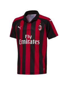 Puma AC Milan Home Jersey Youth 2018/2019 - Black/Red