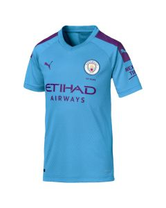 Puma Manchester City Youth Home Jersey 19/20-Blue