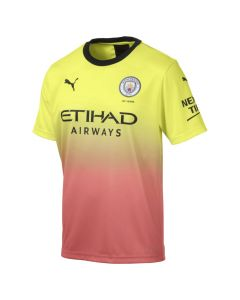 Puma Manchester City Mens 3rd Jersey 19/20-Yellow