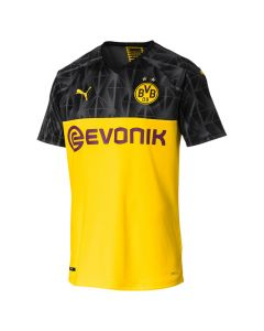 Puma BVB Borussia Dortmund Mens Cup Jersey 2019/20 - Yellow/Black