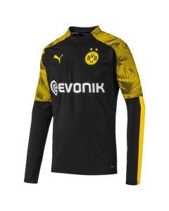 Puma BVB Quarter Zip Men's Training Top black yellow