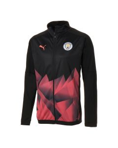 Puma Manchester City Stadium INT Jacket- Black