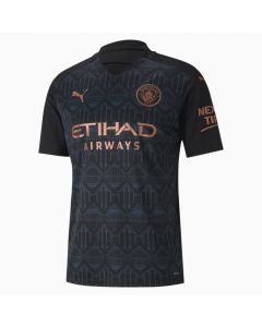Puma Manchester City Away Soccer Jersey 2020/2021- Black