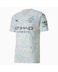 Puma Manchester City Mens third soccer Jersey 20/21-White