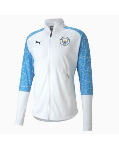 Puma Manchester City Stadium Mens Jacket-White
