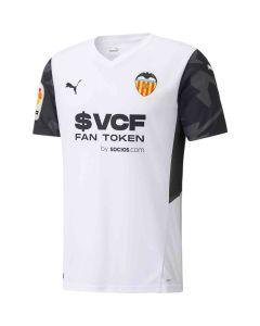 Puma Valencia Home Jersey 2021 - White