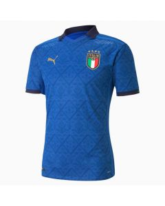 Puma Italia FIGC Home Authentic Jersey 20-21- Royal