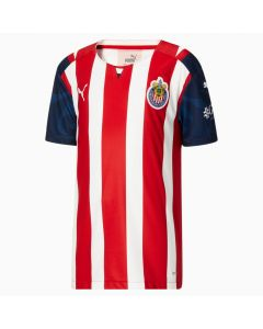 Puma Chivas Youth Home Jersey 21 - Red