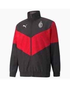 Puma AC Milan Prematch Jacket - Red
