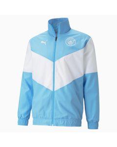 Puma Man City Prematch Jacket - Blue