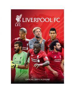 Liverpool 2019 Official Calendar