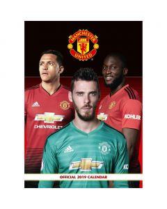 Manchester United 2019 Official Calendar