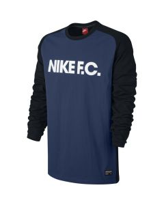 Nike F.C. Men's Top - Coastal Blue/Black
