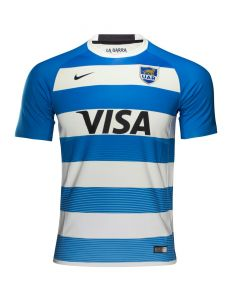 Nike Argentina Home Rugby Jersey 2016/17 - Blue/White