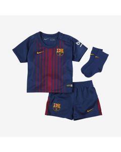 Nike Barcelona Home Mini Kit 2017/18 - Royal/Gold