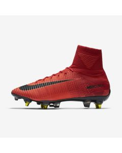 Nike Mercurial Superfly Anti-Clog SG-Pro - Red/Black - fire & ice red
