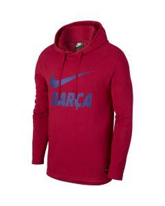 Nike Barcelona Hoodie - Red/ royal blue