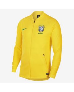Nike Brasil Anthem Mens Jacket - Gold/Green