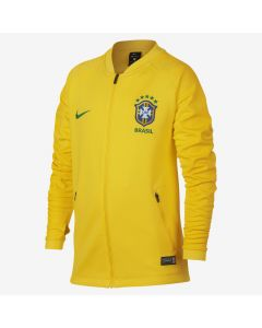 Nike Brasil Anthem Jacket Youth - Gold/Green