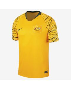 Nike Australia Home Jersey Mens 2018 - University Gold - World Cup 2018