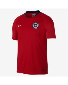 Nike Chile Home Jersey Mens 2018 - Red/White