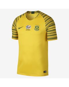 Nike South Africa Home Jersey Mens 2018 - Yellow/Green