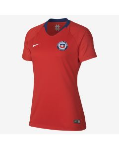 Nike Chile Home Jersey Womens 2018 - Red/White